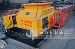 2pgc600*900双齿辊破碎机发往安徽淮南破碎煤矸石