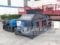 2PG1208半自动液压对辊破碎制砂机发货图片