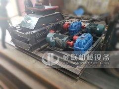 2PG800x600直连对辊制砂机设备发货 发往河南